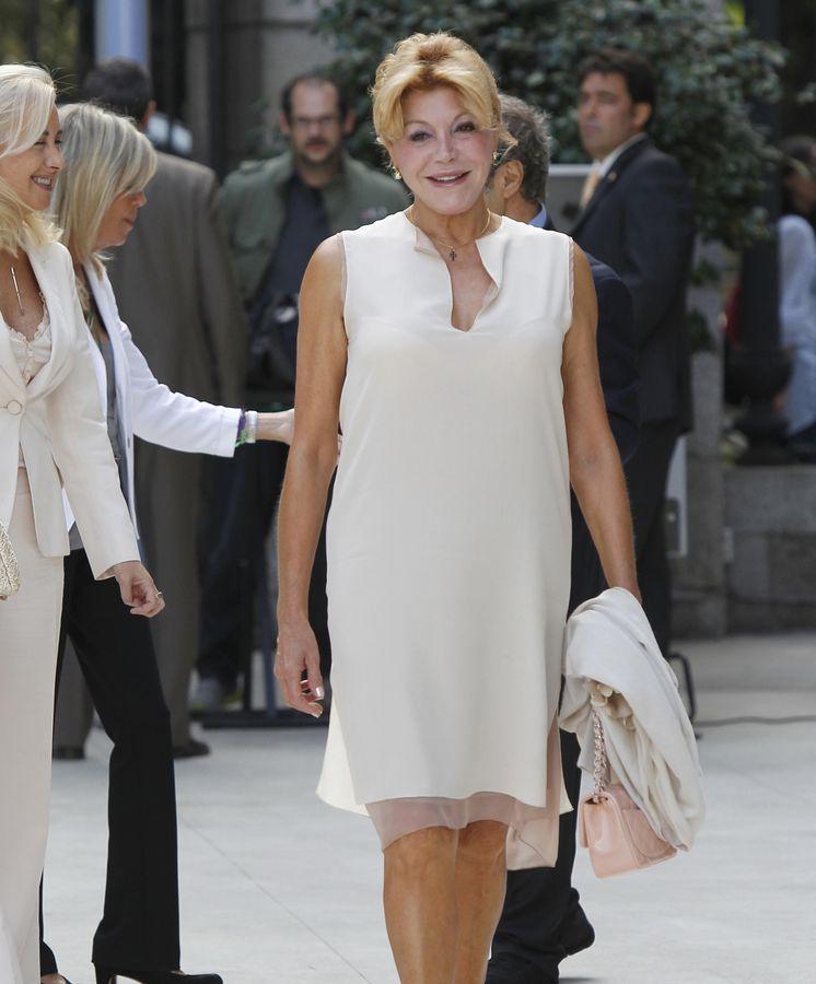 Foto: La baronesa Thyssen, Carmen Cervera, en una imagen de archivo (Gtres)