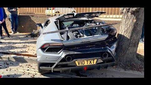 Así se destroza un Lamborghini de 230.000 euros