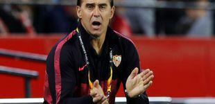 Post de Como sufre Lopetegui su primera bronca en el Sevilla con pañolada y gritos de dimisión