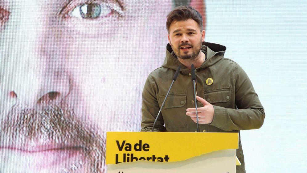 Foto: El número dos de ERC al Congreso, Gabriel Rufián. (EFE)