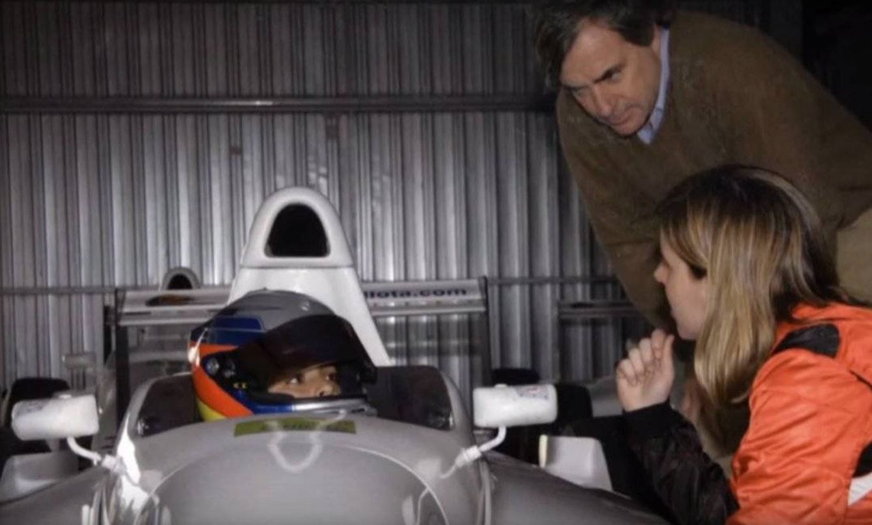 María de Villota fue la tutora de Carlos Sainz hijo en su salto a los monoplazas