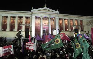 Los griegos se plantan contra la austeridad y desafían a la troika