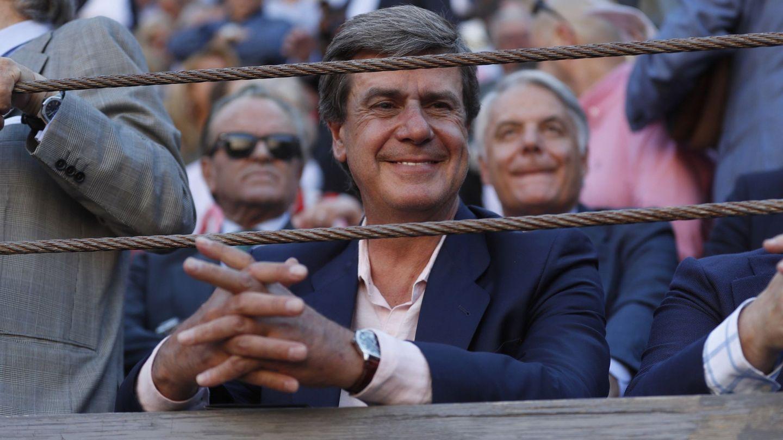 El duque de Arjona, en la plaza de toros de Las Ventas. (EFE)