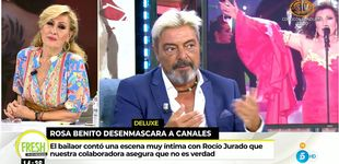 Post de Rosa Benito estalla contra Canales por su último embuste sobre Rocío Jurado