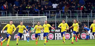 Post de Cómo Suecia hundió sin Ibrahimovic en la más absoluta miseria a Italia