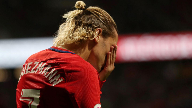 Antoine Griezmann está firmando un decepcionante inicio de temporada. (Reuters)