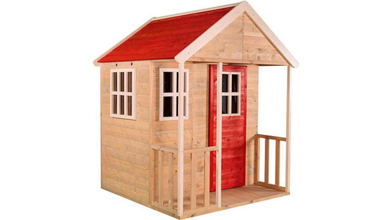 Casita infantil de madera para exteriores Wendi Toys