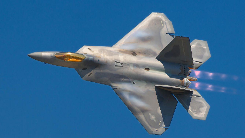Foto: F-22 Raptor, el caza más caro (Lockheed Martin - Wikipedia)