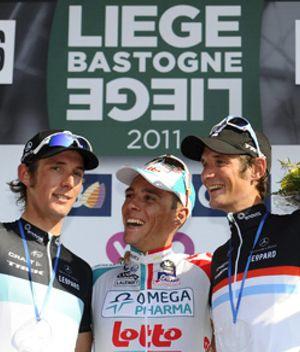 Gilbert, el nuevo Supermán belga, gana el triplete tras la Lieja-Bastoña-Lieja