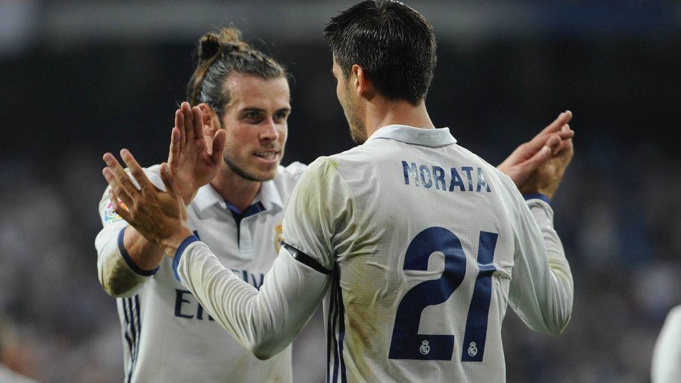 Bale y el efecto dominó que arrincona más todavía al desencantado Morata