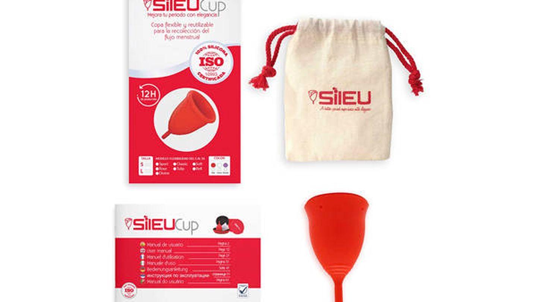 Copa menstrual recomendada por ginecólogos Sileu