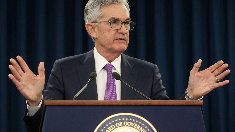 Jerome Powell, presidente de la Reserva Federal de EEUU. (Reuters)
