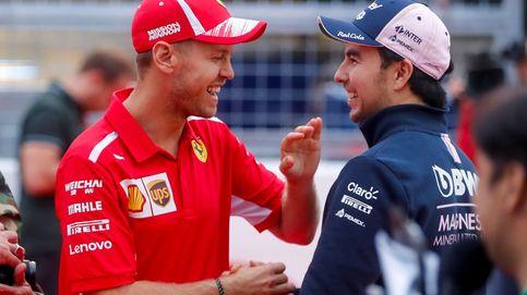 Vettel confiesa los contactos con Aston Martin y pone a Pérez contra las cuerdas