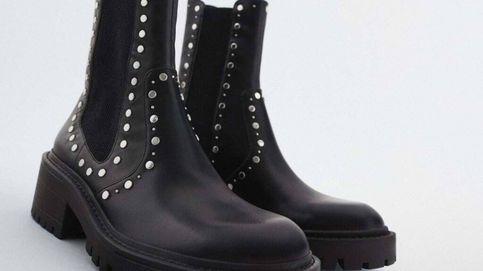 Zara ha recuperado para las rebajas sus botines de suela track más vendidos