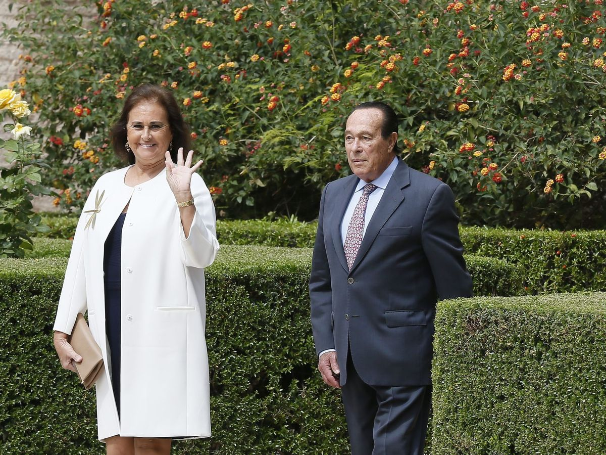 Foto: Carmen Tello y Curro Romero. (EFE)