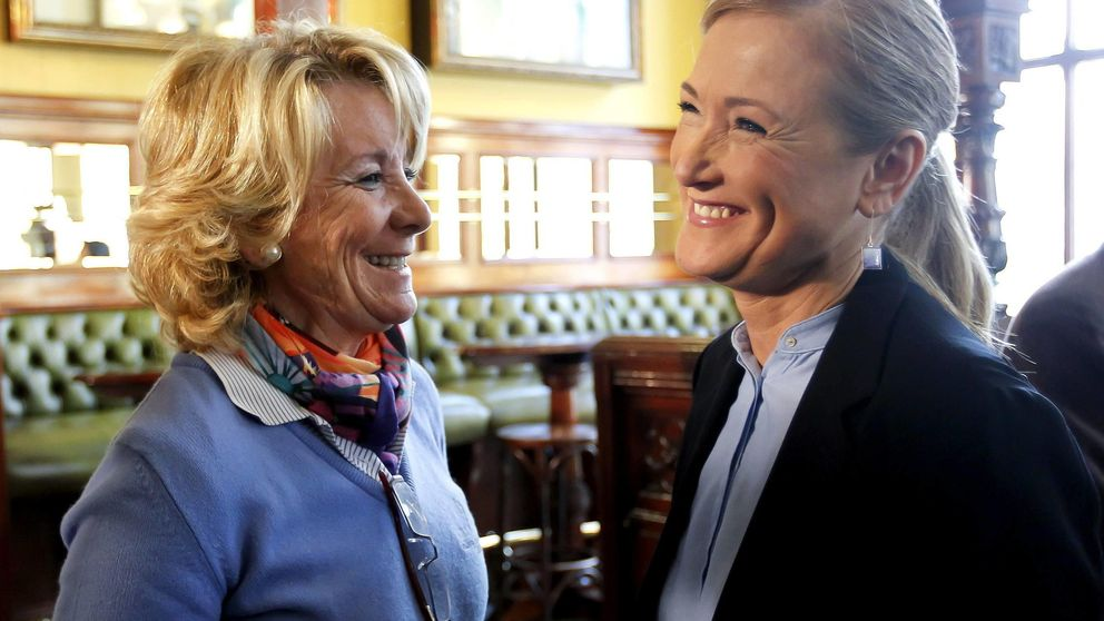 Aguirre será la candidata del PP a la alcaldía y Cifuentes a la Comunidad