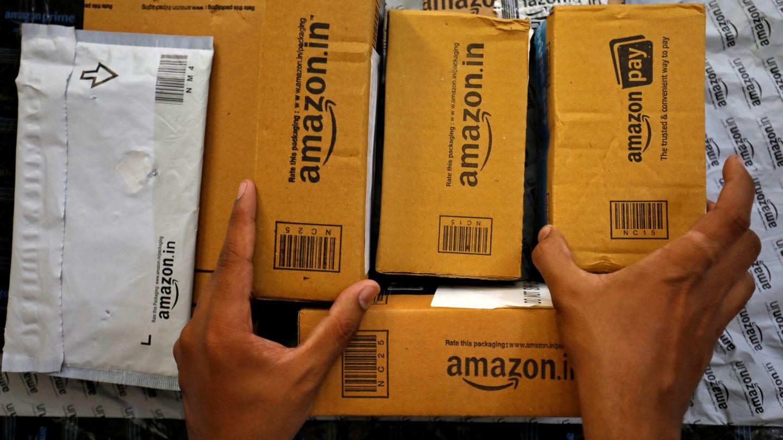 Paquetería de Amazon. (Reuters)