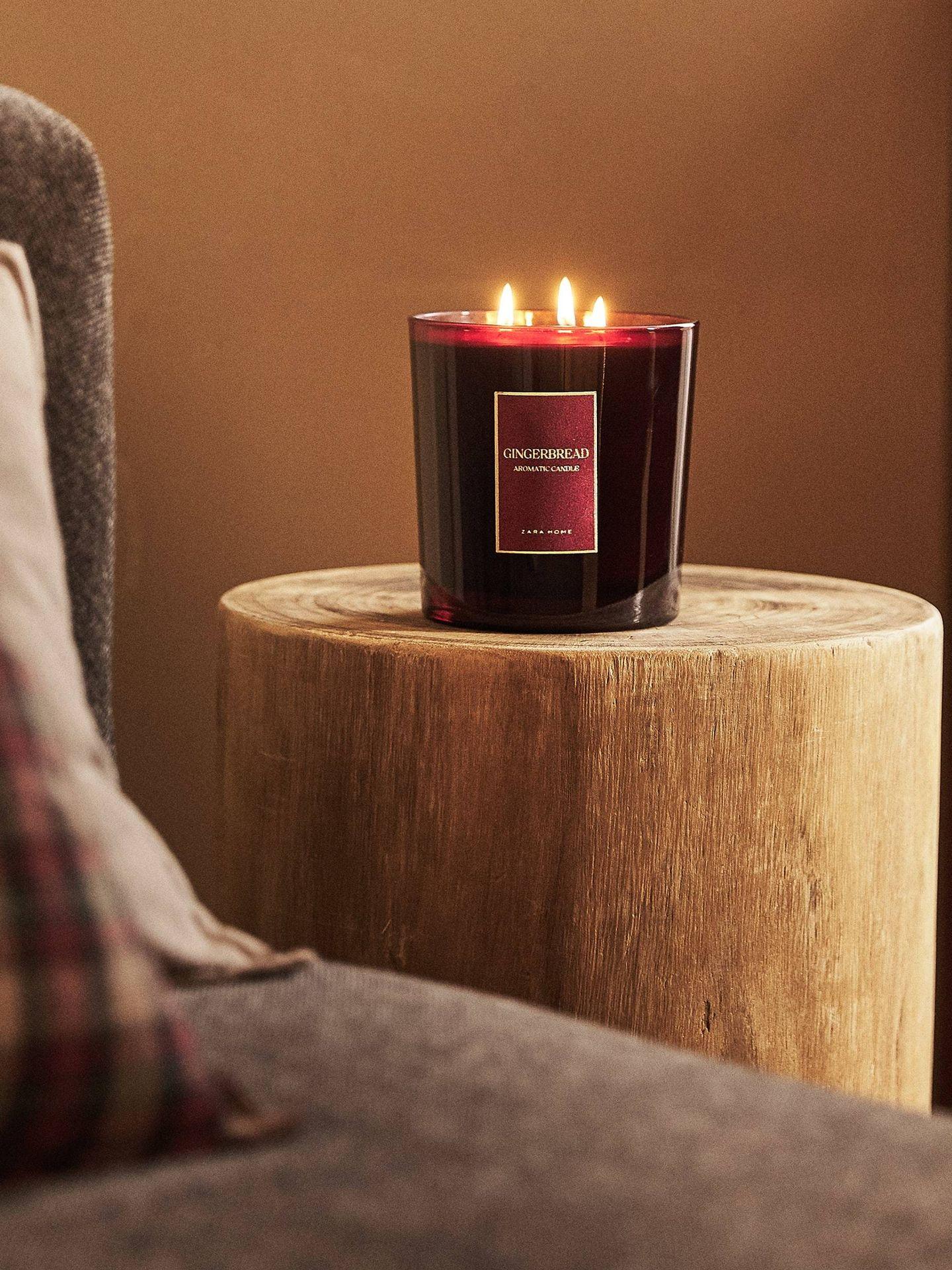 La vela adquirida por doña Letizia. (Zara Home)