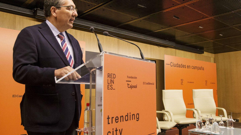 Antonio Pulido, presidente de la Fundación Cajasol (F. R.)