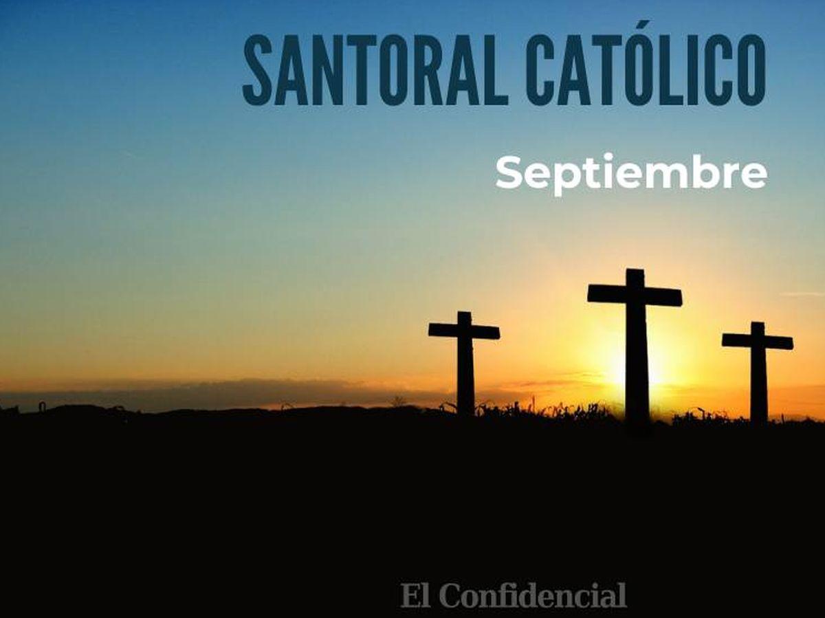Foto: Santoral católico de septiembre