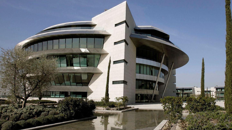 Sede de Banco Santander en Boadilla del Monte (Madrid). (EFE)