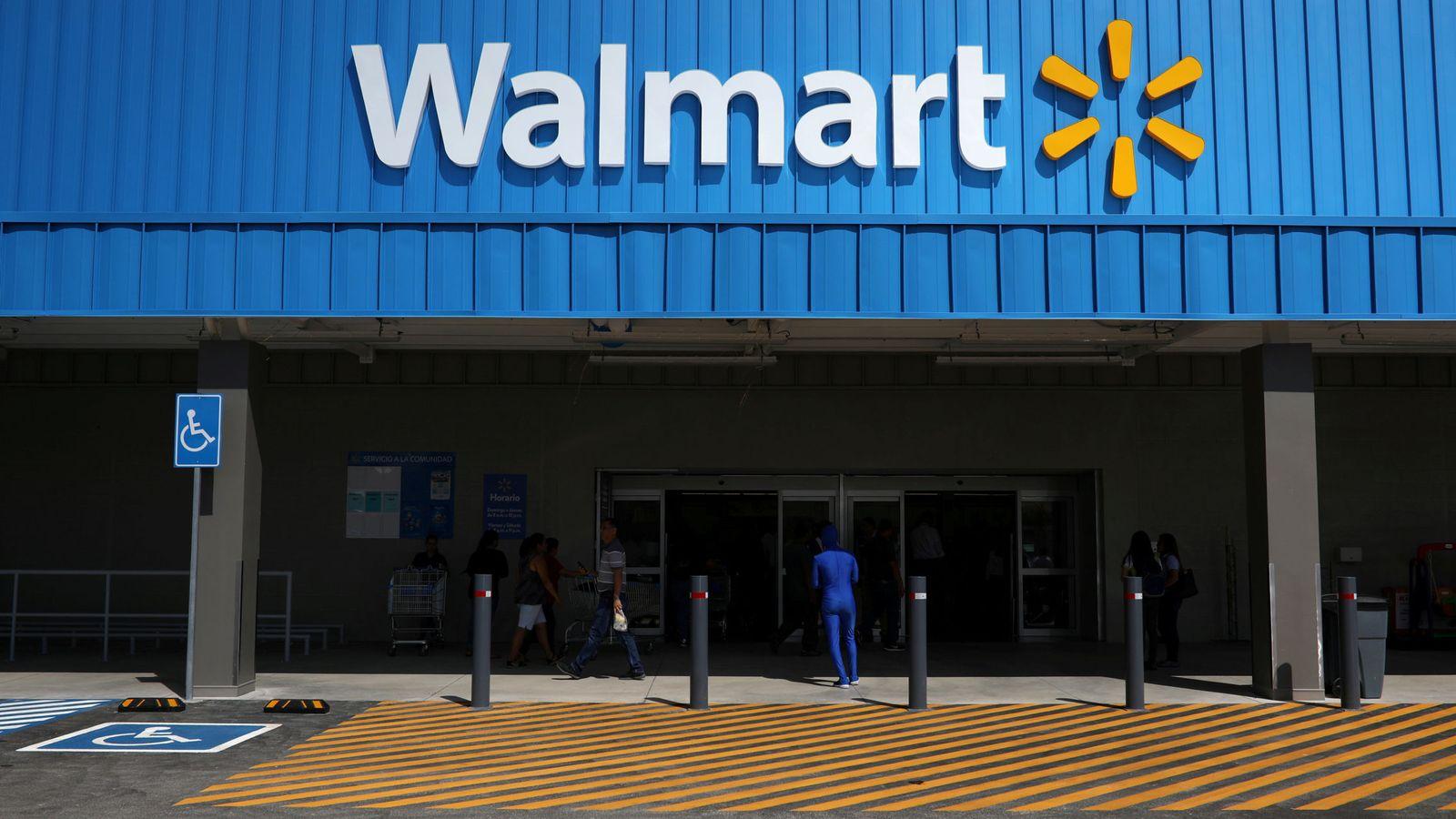 Foto: Un supermercado Walmart. (Reuters)