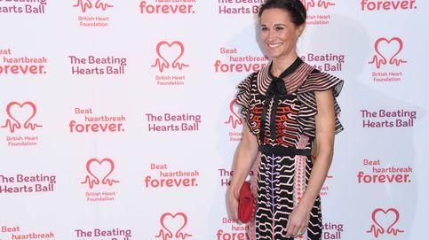 El folclórico vestido de Pippa Middleton en su primera aparición pública