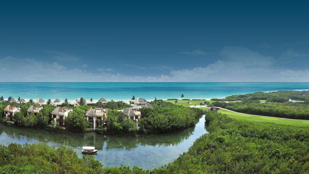 Foto: Imagen del resort de lujo de Mayakoba