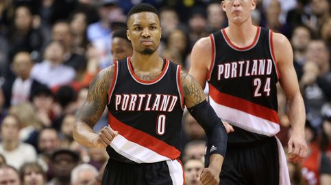 Lillard se disfraza de Curry, pero sus 50 puntos no pueden con los Raptors