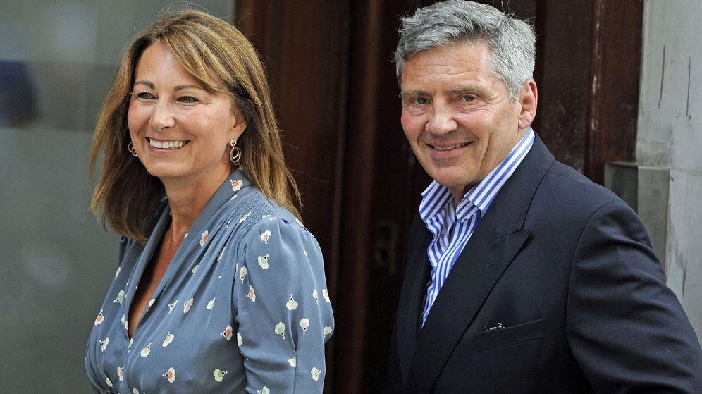 Foto: Michael y Carole Middleton en una imagen de archivo. (EFE)