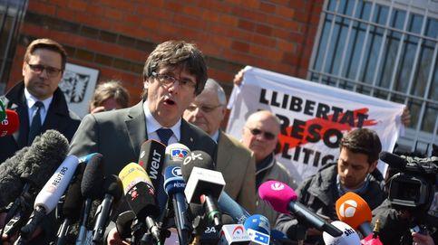 Puigdemont sale de la cárcel: Es una vergüenza tener presos políticos