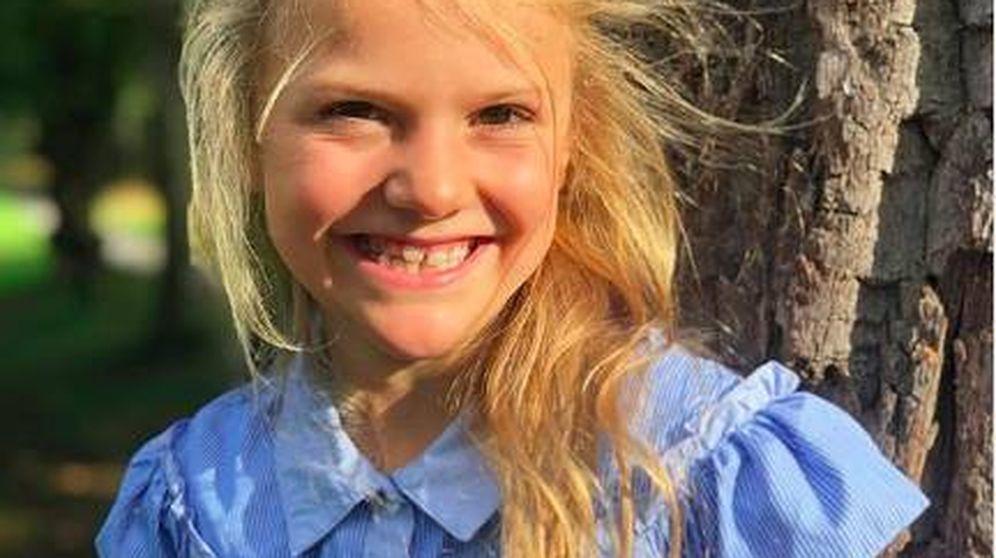 Foto: La princesa Estelle de Suecia. (@kungahuset)
