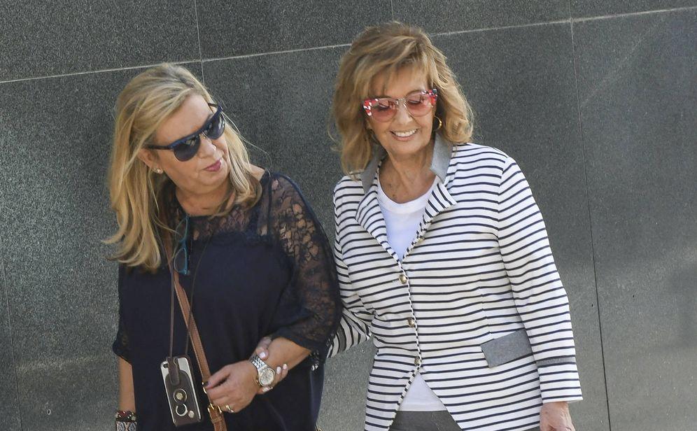 Foto: Carmen Borrego y María Teresa Campos en una imagen de archivo. (Gtres)