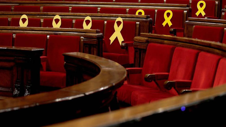 Vista general del Parlament. (EFE)