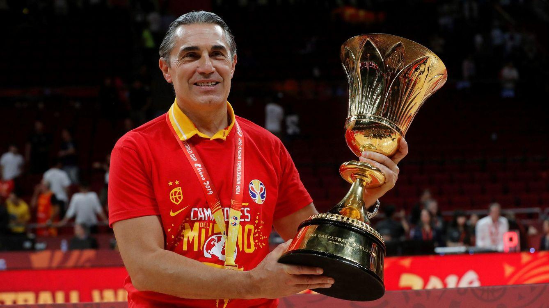 El oro de Sergio Scariolo: su obra maestra con la Selección española