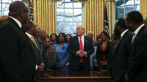 Trump se reúne con estudiantes afroamericanos