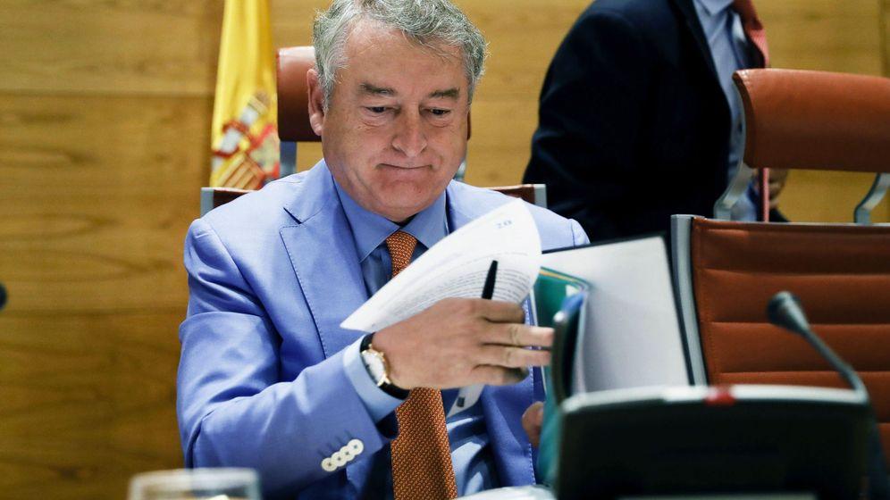 Foto: El presidente del Consejo de Administración y de la Corporación de RTVE, José Antonio Sánchez. (EFE)
