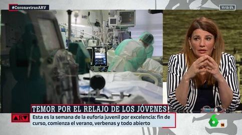María Claver responsabiliza en La Sexta a los medios del relajo de la ciudadanía