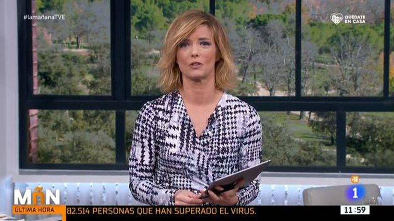 María Casado, en 'La mañana' de La 1. (TVE)