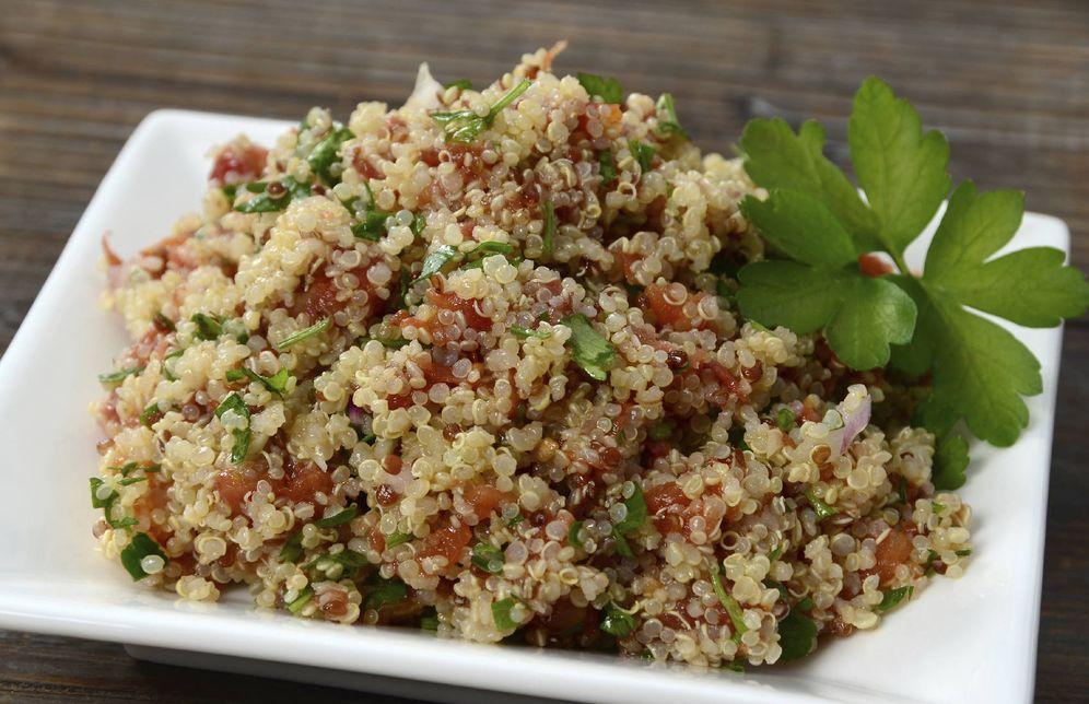 Foto: Ensalada de quinoa. (iStock)