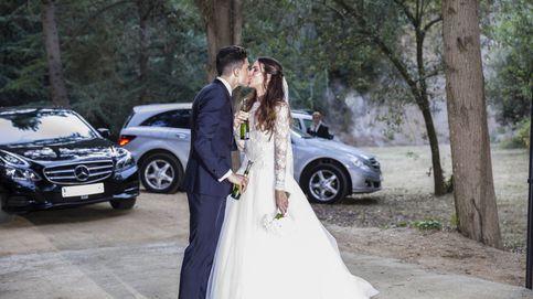 Vea aquí el posado oficial de la boda de Marc Bartra y Melissa Jimenez, en Barcelona