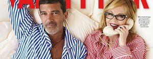 """Antonio Banderas: """"Nunca he visto a Melanie borracha"""""""