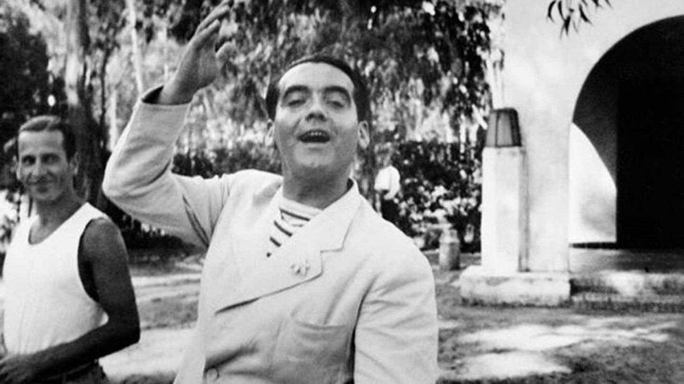 Foto: El poeta y dramaturgo Federico García Lorca en Granada.