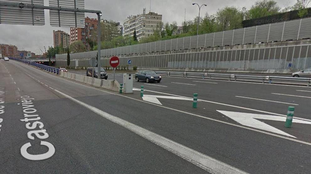 Un nuevo radar 'con truco' multa a los coches que circulan por la M-30