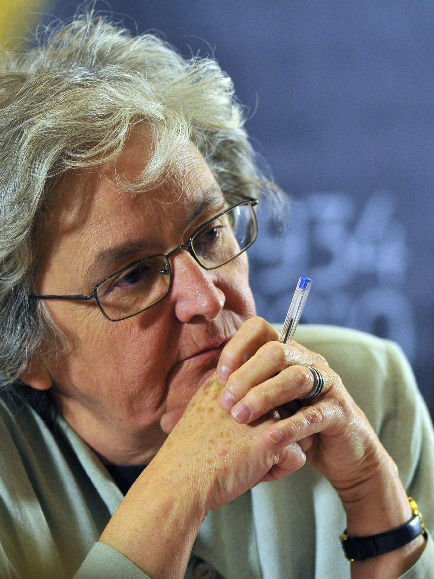 La periodista Soledad Gallego-Díaz. (EFE)