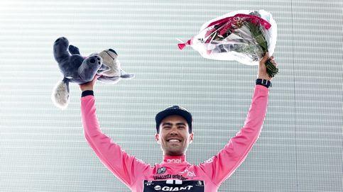 Dumoulin se enfunda la maglia rosa; Valverde y Landa ceden ante Nibali