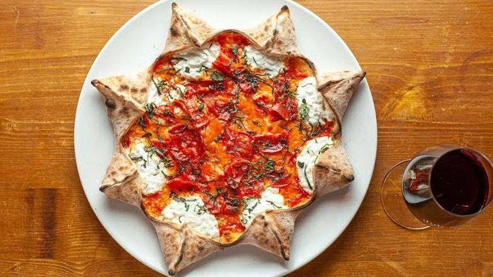 Foto: La pizza estrella de Mister O1.