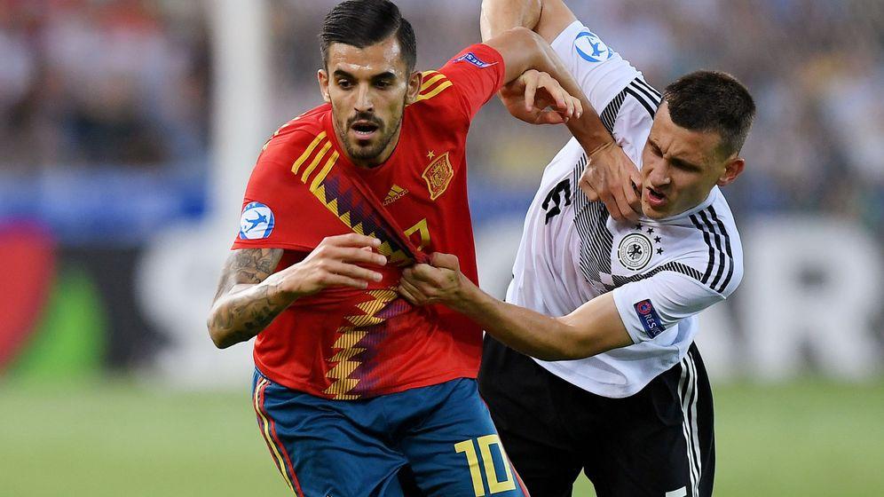 Foto: Dani Ceballos ganó la Eurocopa sub-21 con la Selección española. (Reuters)