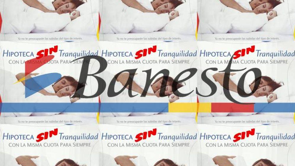 Foto: Propaganda de Banesto sobre la Hipoteca Tranquilidad. Foto: Asufin.