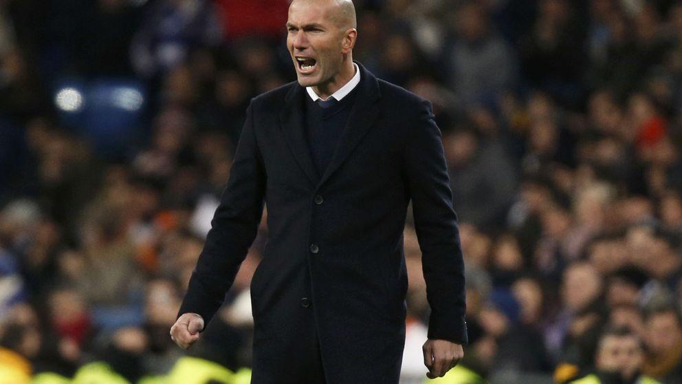 La falta de intensidad como único mal del Real Madrid detectado por Zidane